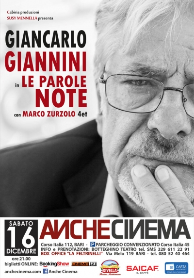 GIANCARLO GIANNINI | Le parole note