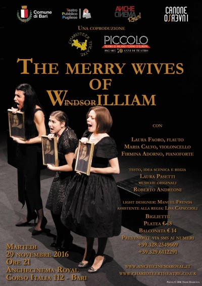 THE MERRY WIVES OF WINDSORILLIAM