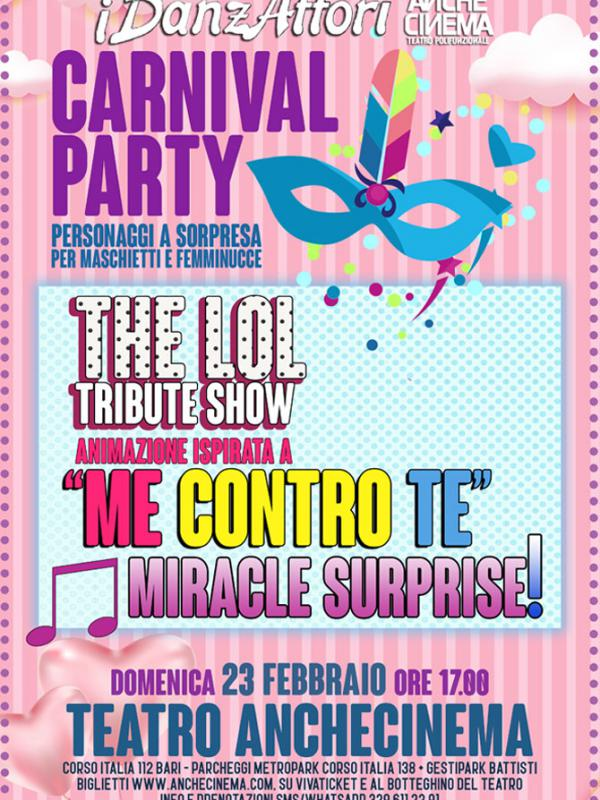 CARNIVAL PARTY - VEGLIONE