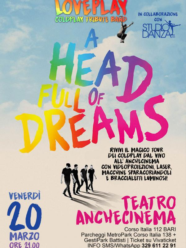 LOVEPLAY COLDPLAY TRIBUTE BAND - A HEAD FULL OF DREAMS