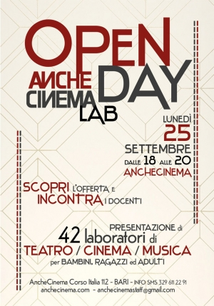 OPEN DAY ANCHECINEMA LAB